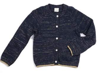EGG Navy Metallic Cardigan