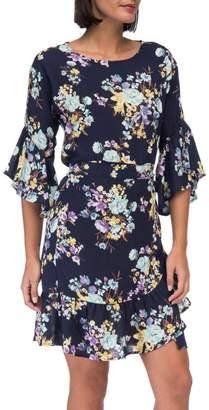 Bobeau Astrid-Floral Apron Dress