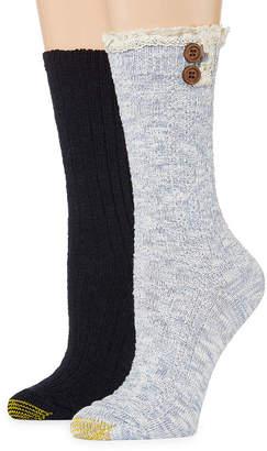 Gold Toe 2 Pair Crew Socks - Womens