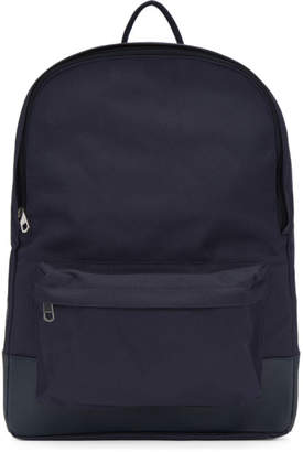 A.P.C. Navy Mickael Backpack