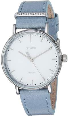 Timex Fairfield 3-Hand with Crystals Watches