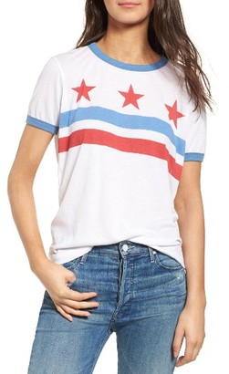 Women's Wildfox Stars & Stripes Tee $64 thestylecure.com
