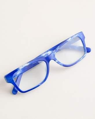 Chico's Chicos Blue Swirl Reading Glasses