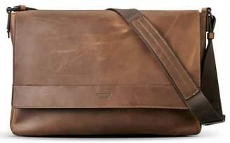 Shinola Leather E/W Messenger Bag