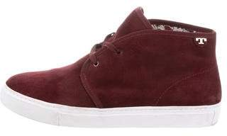 Tory Burch Iggy Lace-Up Sneakers