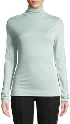 Jason Wu Ultrafine Merino Wool Roll-Edge Turtleneck Sweater