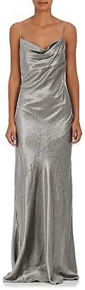 Barneys New York Women's Silk-Blend Lamé Sleeveless Gown