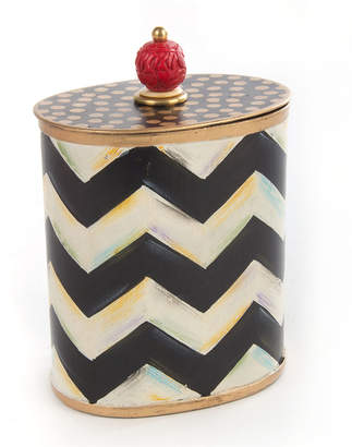 MacKenzie-Childs Zig Zag Cotton Box