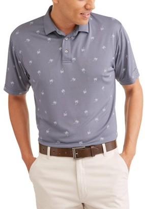 Hogan Ben Men's Performance Short Sleeve Premium Lightweight Polo Shirt, Up To Size 5XL