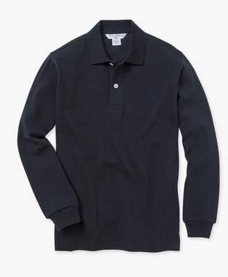 Brooks Brothers (ブルックス ブラザーズ) - BOYS GF コットンピケ ロングスリーブ ポロシャツ