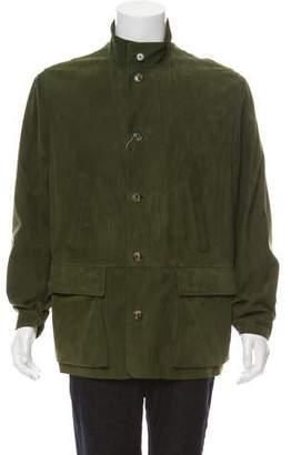 Loro Piana Suede Field Jacket