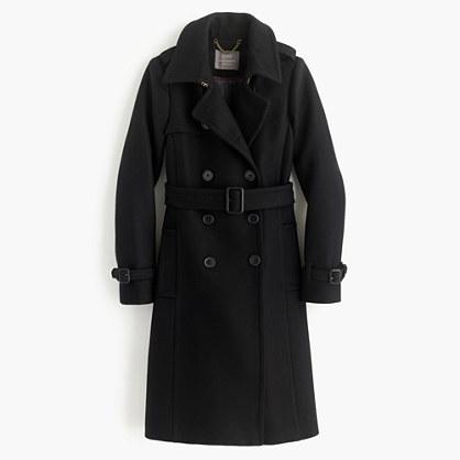 J.CrewIcon trench coat in Italian wool cashmere