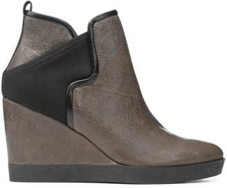Donald J Pliner LULUU, Distressed Tumbled Calf Wedge Bootie