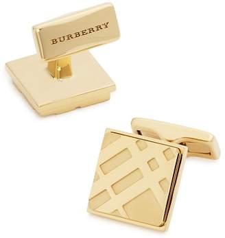 Burberry Square Check Cufflinks