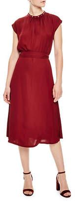Sandro Autumn Berkeley Conique A-Line Dress