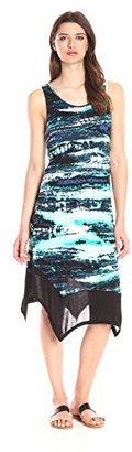 Kensie Women's Slubby Rib Jersey Dress $79 thestylecure.com