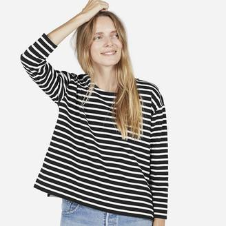 The Boxy Striped Tee $45 thestylecure.com