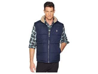 U.S. Polo Assn. Signature Vest Sherpa Collar Men's Vest