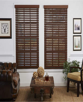 The Cordless Collection 2 in. Cordless Faux Wood Venetian Blind, 40x64