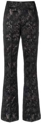 Tufi Duek printed flared trousers