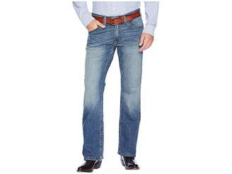 Ariat M5 Slim Low Rise Bootcut Tekstretch Jeans in Blue Point