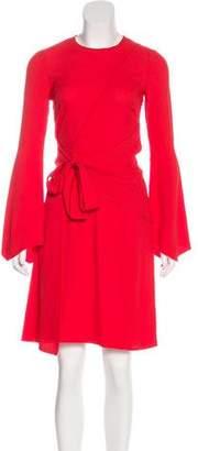 Proenza Schouler Long Sleeve Knee-Length Dress w/ Tags
