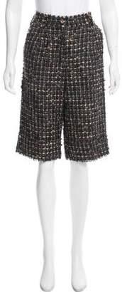 Dolce & Gabbana High-Rise Bouclé Pants