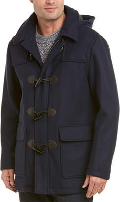 Brooks Brothers Short Wool-Blend Duffle Coat