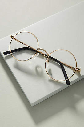 Anthropologie Harriet Round Reading Glasses