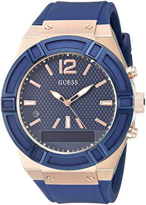 GUESS Men's Stainless Steel Connect Smart Watch - Amazon Alexa