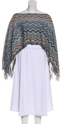 Missoni Wool Knit Shawl