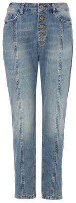 Tu clothing Mid Denim Blue Straight Jeans