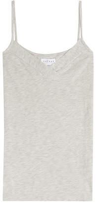Velvet Cotton Blend Vest Top