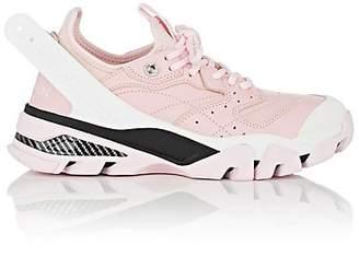 Calvin Klein Women's Rubber-Strap Leather & Neoprene Sneakers - Pink