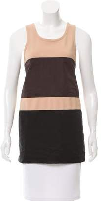 Calvin Klein Collection Colorblock Sleeveless Tunic