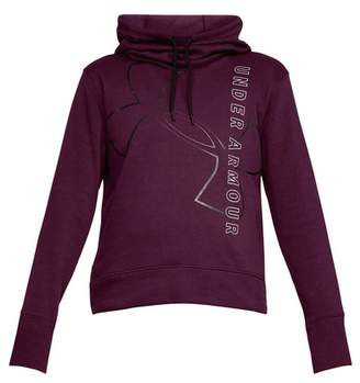 Under Armour Women's Big Logo Cotton Hoodie