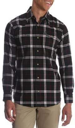 d83b49b069 Wrangler Men s and Big   Tall Long Sleeve Snap Flannel Shirt