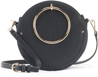 Lauren Conrad Aster O-Ring Circle Crossbody Bag