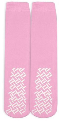 Nobles Health Care Product Solutions Nobles Assorted Anti Skid/ No Slip Hospital Gripper Socks, Great for adults, men, women. Designed for medical hospital patients but great for everyone (1 Pair Pink)