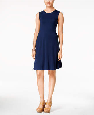 Style&Co. Style & Co. Petite Sleeveless Swing Dress, Created for Macy
