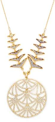 Azaara Women's Embellished CZ Pendant Necklace