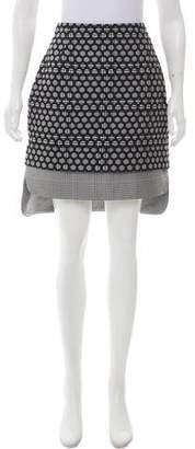 Antonio Berardi Matelassé Knee-Length Skirt