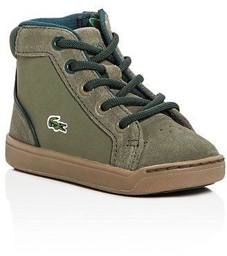 Lacoste Boys' Explorateur Mid Top Sneakers - Walker, Toddler $74.95 thestylecure.com