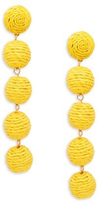 Ava & Aiden Ball Linear Drop Earrings