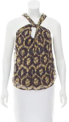 Isabel Marant Sleeveless Printed Top