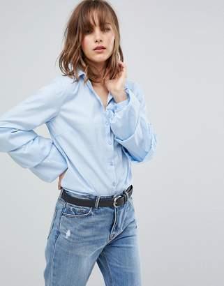Vila Tiered Sleeve Shirt