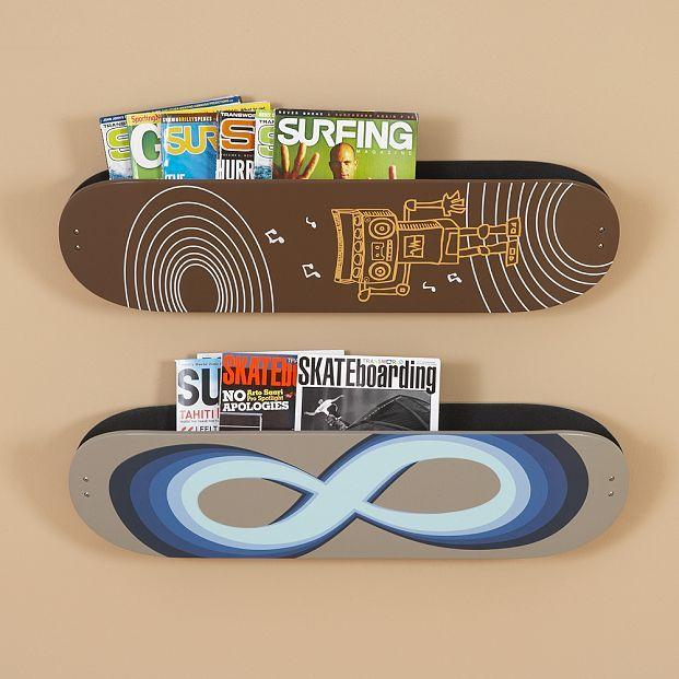 Skateboard Magazine Pockets