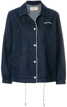 MAISON KITSUNÉ oversized denim jacket