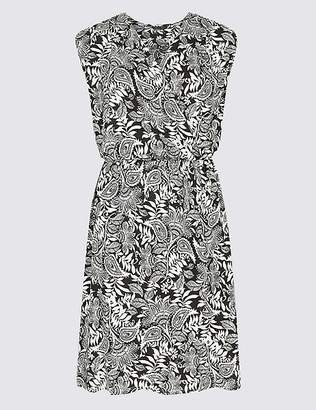 Marks and Spencer Paisley Print Wrap Dress