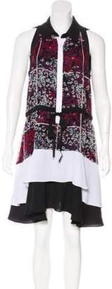 Timo Weiland Silk Printed Dress